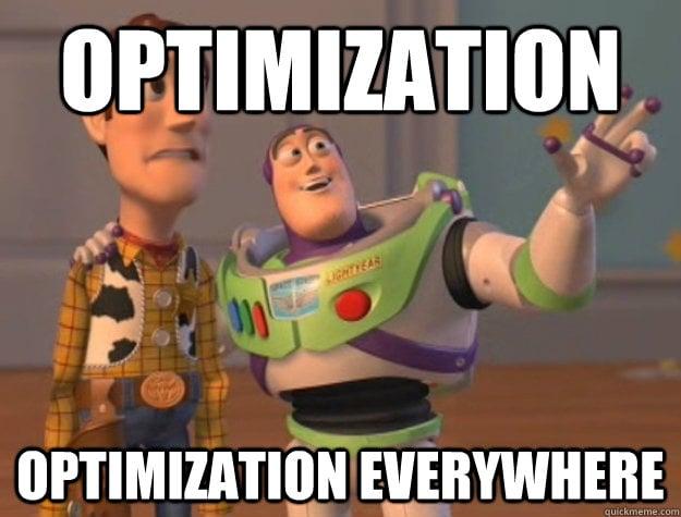 Website Optimization Meme