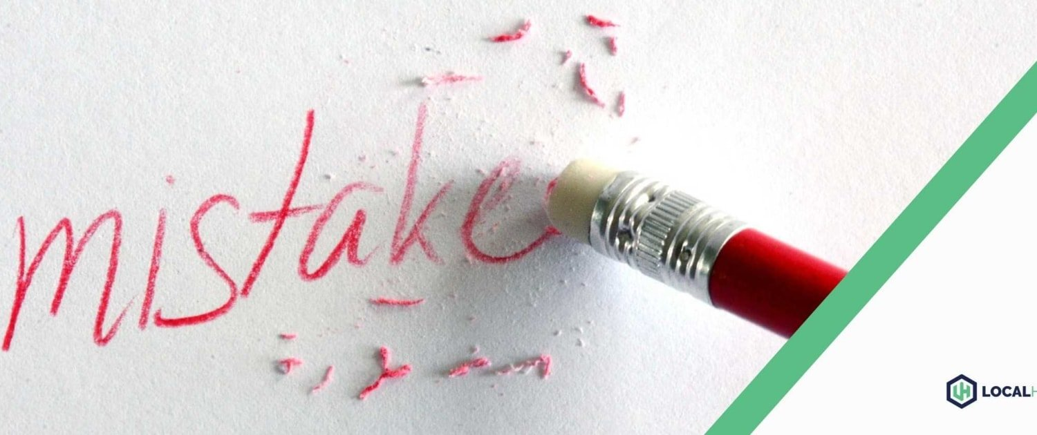 Erasing a Digital Marketing Mistake